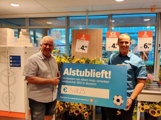 Afsluiting Albert Heijn emballage actie!