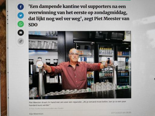 Vrijwilliger belicht ... Piet Meester