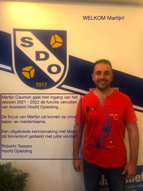 Martijn Caumon assisteert Hoofdopleiding