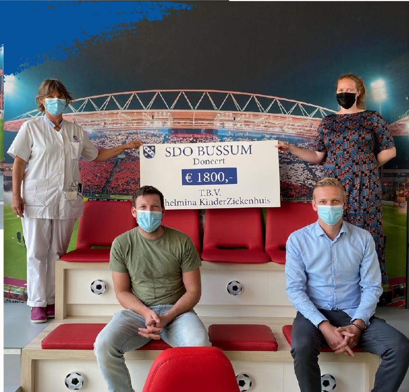 SDO support het Wilhelmina Kinderziekenhuis!