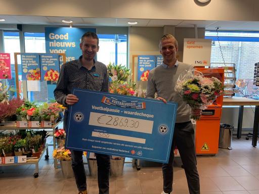 Albert Heijn actie uiterst succesvol voor SDO