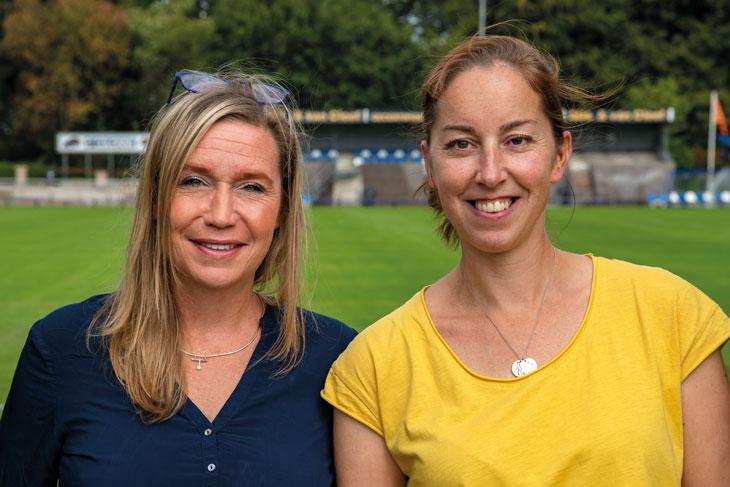 Vertrouwenspersonen SDO - Yvonne Lutkie en Vivian de Leeuw